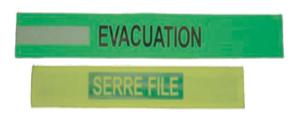 Brassards de sécurité et d'évacuation-1